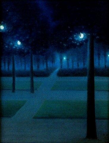 Degouve de Nunques - Nocturne au Parc Royal de Bruxelles II.jpg