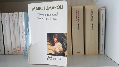 marc fumaroli,poésie et terreur,chateaubriand