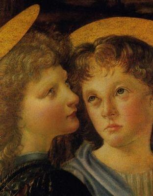 Baptême du Christ, détail par Vinci.jpg