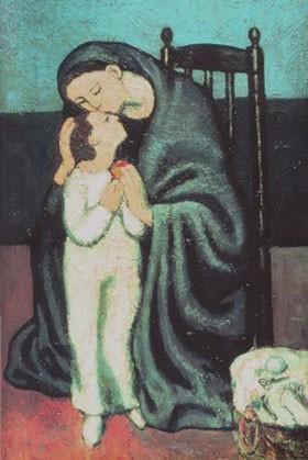 Picasso, La maternité (mère et enfant).jpg