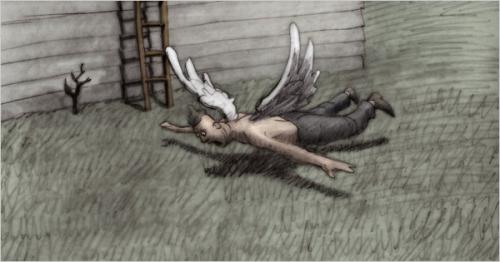 rémi brague,bill plympton,des idiots et des anges,les amants électriques