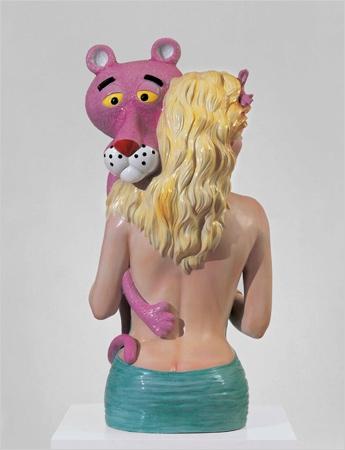 jeff koons, pink panther II.jpg