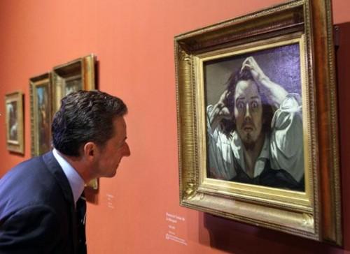 Sarkozy devant le désespéré de Courbet.jpg