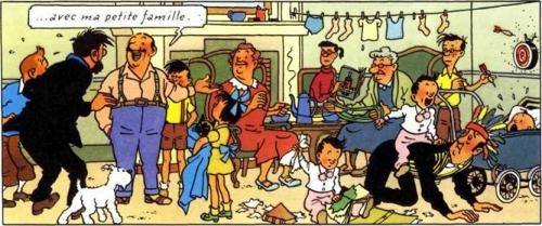 séraphin lampion avec sa petite famille.jpg