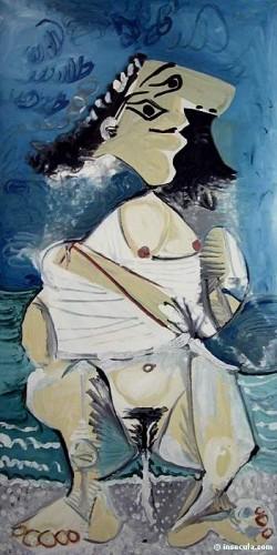 Picasso, la pisseuse.JPG