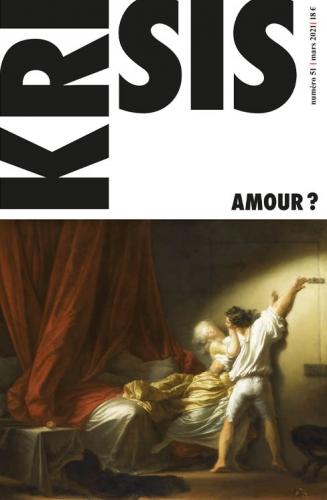 Krisis, amour, david l'épée, alain de benoist