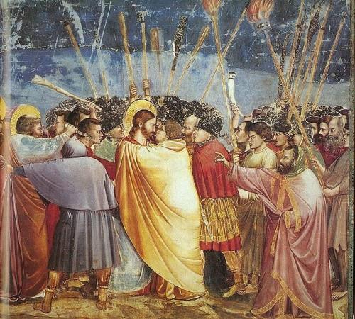 Giotto, baiser de Judas.jpg