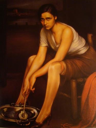 Femme espagnole Julio Romero de Torres.JPG