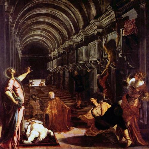 Tintoret, La découverte du corps de saint Marc..jpg