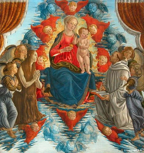 Botticini, La vierge glorieuse.JPG