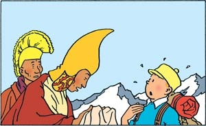 jean parvuleco,un retour en colchide,apocalyspe,tibet,tintin au tibet